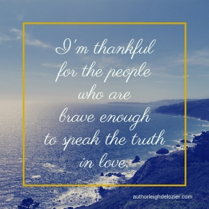 thankful truth in love